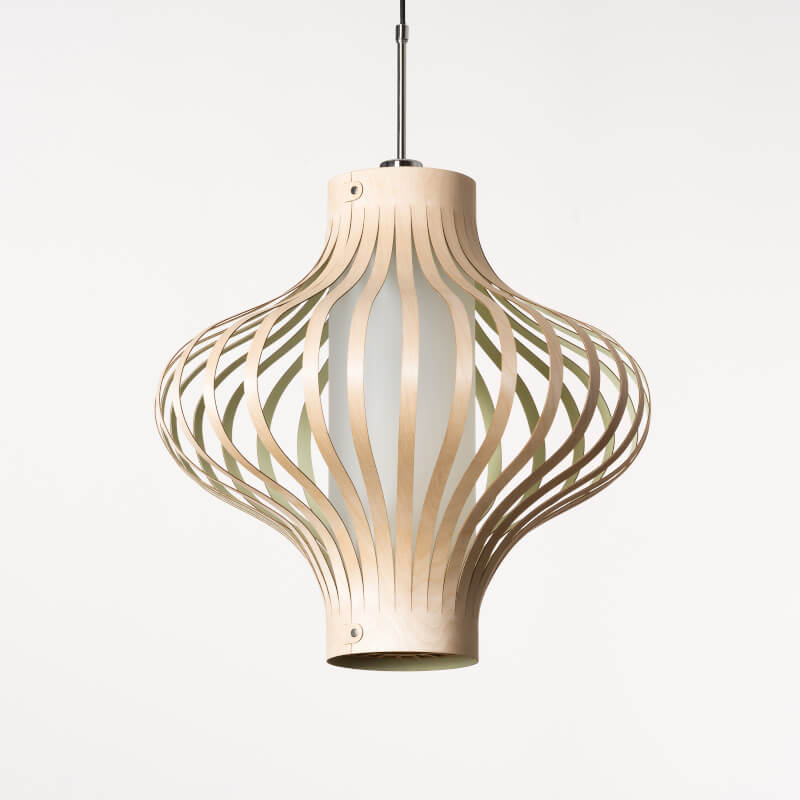 model Fosa - design lamp - houten lamp