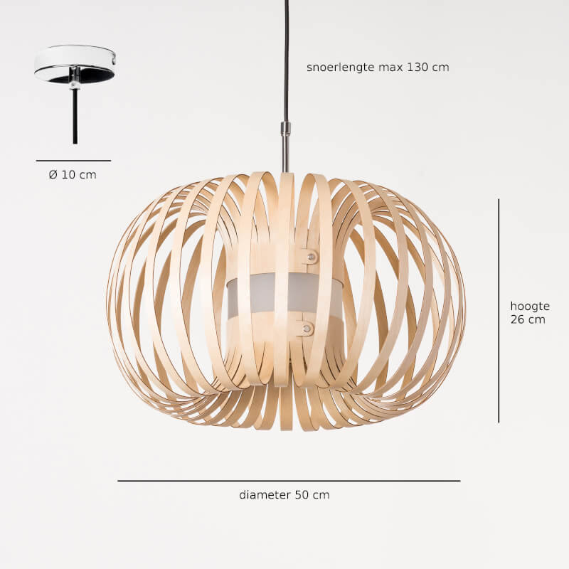 Design lamp - model Meta - Lion Design - specificaties