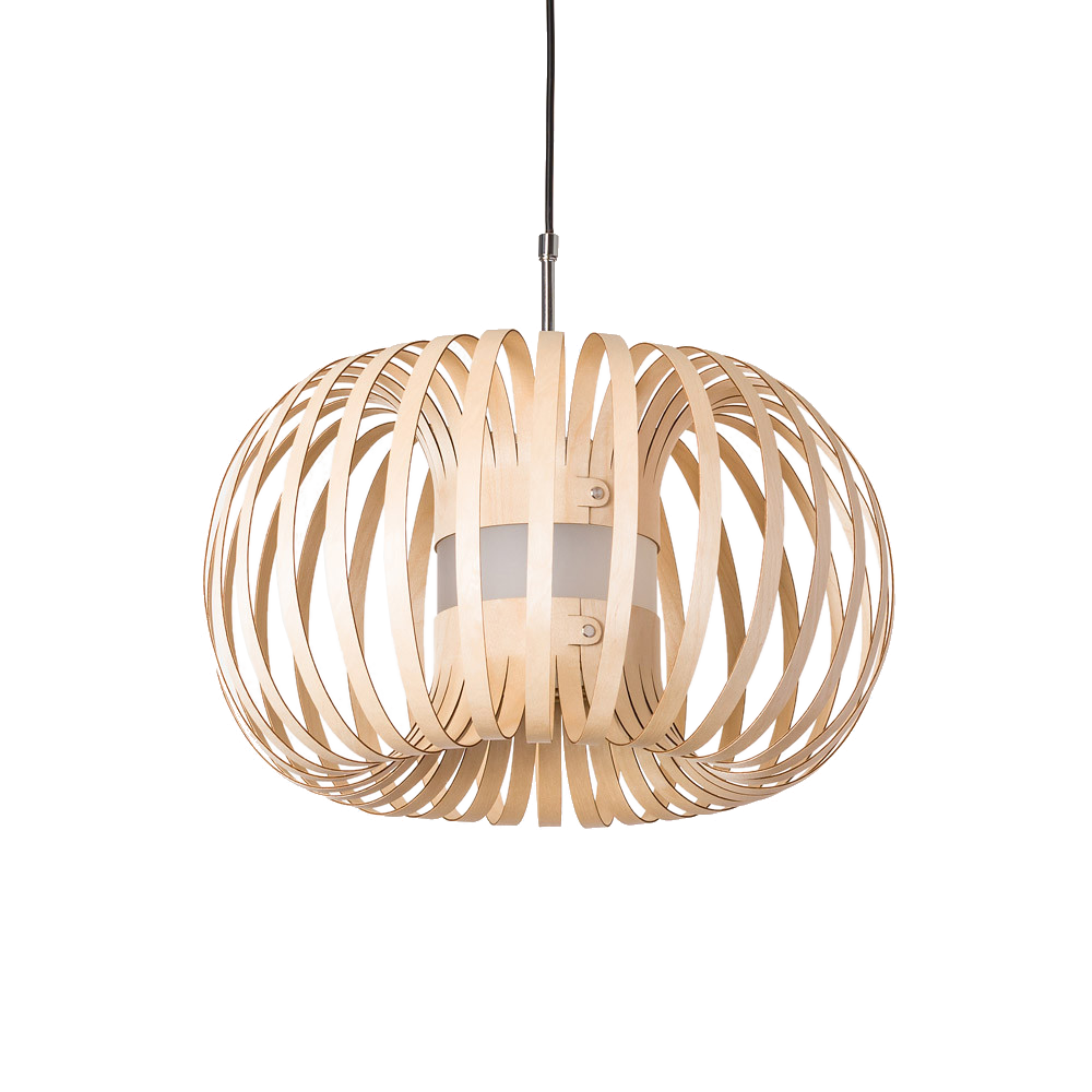 Lion Design - Meta naturel - houten hanglamp