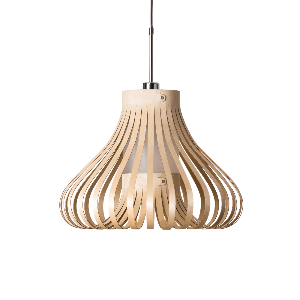 Lion Design - model Mora - houten hanglamp