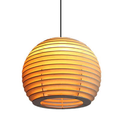 houten hanglamp model zeta lion design